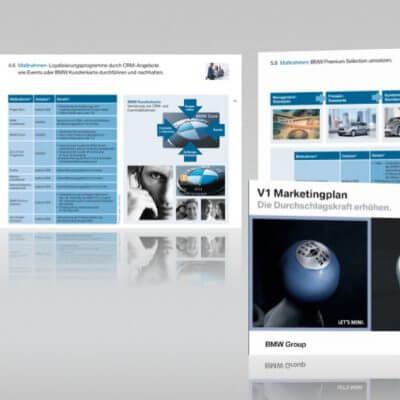 BMW Marketingplan